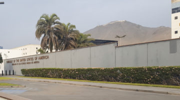 The US Embassy in Lima