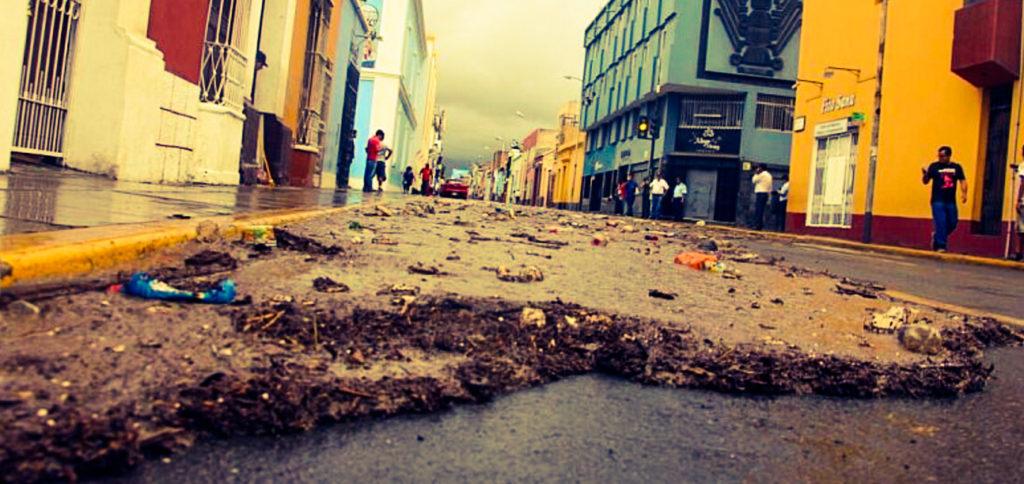 El Niño floods Trujillo